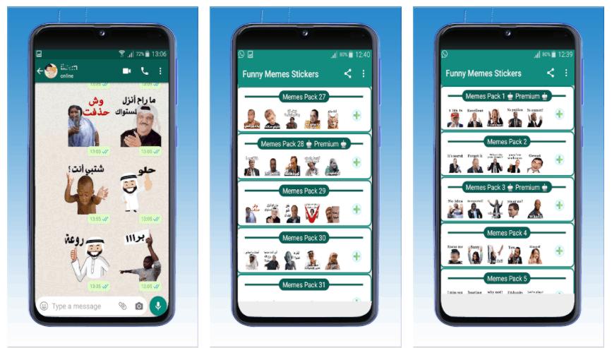 تطبيق ملصقات واتساب جديدة مضحكة عربية احدث اصدار لتطبيق واتساب عمر
