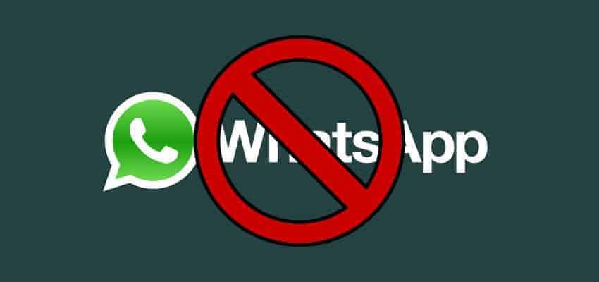 التطبيق لا يعرض حسابك علي واتساب للحظر.